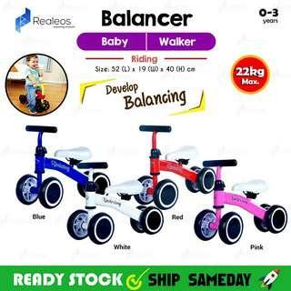 READY STOCK SHIP SAME DAY 👉 Baby/Kids Balancing Bike🚴🚵🚲