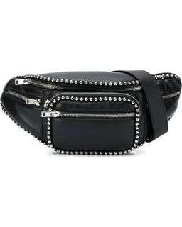 AUTHENTIC Alexander wang stud studded Attica fanny pack belt bag bum bag black Chanel Prada balenciaga Gucci Chloe feline