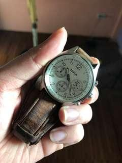 Fossil Leather Watch Original
