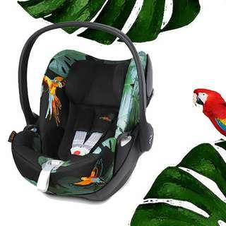 READY STOCK 👉 CYBEX Cloud Q Infant Carrier Fashion Series - BIRD OF PARADISE🐦💙
