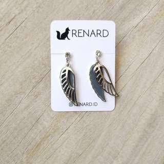 Wings Earring / anting cantik / anting / anting manis / anting imut / anting lucu / anting pesta / anting fashion/ anting import / anting keren / anting murah / anting cakep / anting murmer