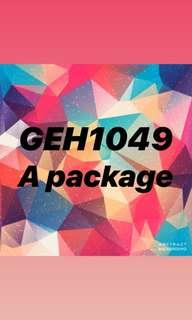 🚚 GEH1049 A+ package (public health in action)