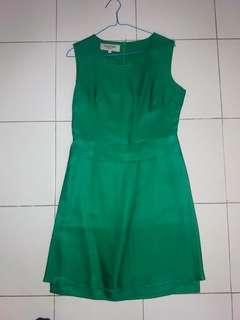 Dress Valentino green