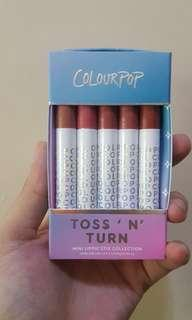 NEW ARRIVAL! Colourpop Toss N Turn Mini Lip Set
