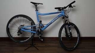 Commencal Mountain Bike Fox Full Suspension