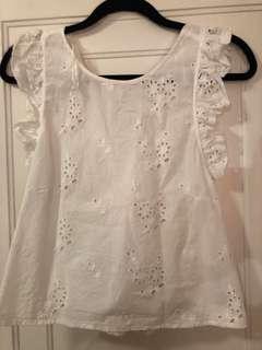 Zara lace shirt