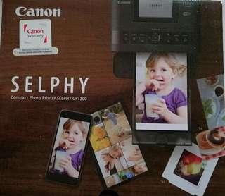 Canon Selphy CP1300 Slightly Used Printer