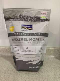 🚚 Fish4Dogs - Mackerel Morsels (conditioning treats for dogs)