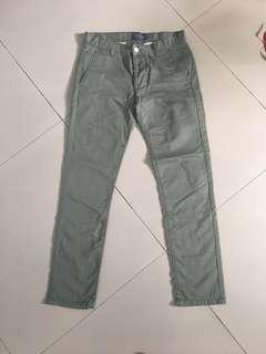 chino topman size 30S army green