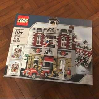 LEGO 10197 Fire Station