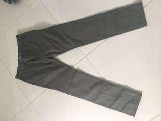 chino topman size 30S khaki green