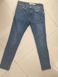 skinny jeans topman size 30S