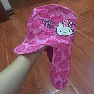 Hello kitty uv swim cap