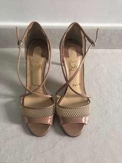 Christian Louboutin high heels sandals