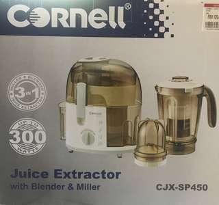 Juice Extractors with Blender & Miller CJX-SP450