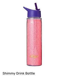 Smiggle Shimmy PINK Water Bottles