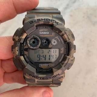G shock watch camo