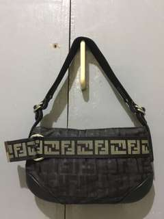 1fc574183aba RUSH RUSH SALE!! Authentic FENDI baguette leather bag