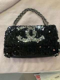 Chanel sequin evening bag