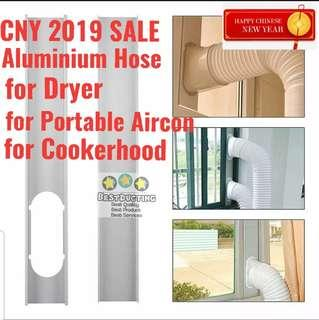 🚚 Aircon/portable aircon/vent/hose/pipe/Aluminium/dryer/cooker/hood/tubing/flexible/ducting/exhaust/trunking/aluminum/clothes dryer/cooler hose/tumble dryer/flexible/ducting/exhaust fan/Plastic/cooler/cooker/hood/ventfan/Vinyi/ventilation/tubing/vinyi/miner