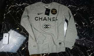 Nike x Chanel Sweatshirt Grey size L