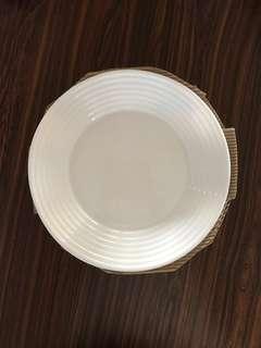Tempered Microwave Safe Plates (4 pcs)