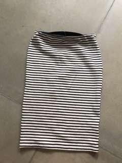 Span skirt stripes
