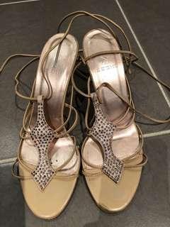 Sachi tie up strappy heels (6.5)