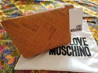 🚚 Authentic Love Moschino cosmetic pouch