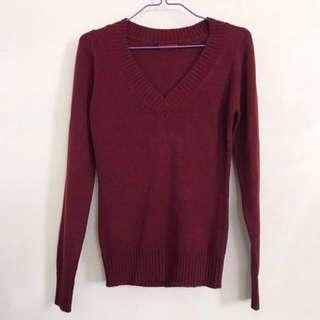 Terranova Wine Red Knitwear