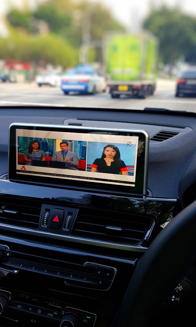 10 25inch Android Head Unit for BMW X1