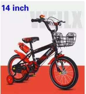 14inchBoys and girls  children's bicycle