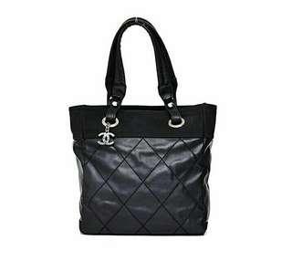 Chanel Biaritz Black Silver Hardware #14