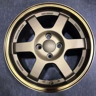 "15"" bronze wheels lightweight"