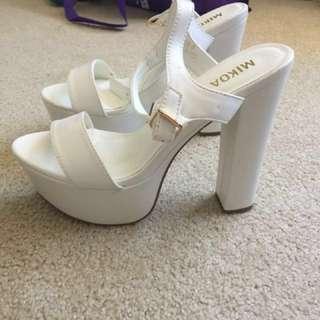 Size 9 Platform Heels *Free*