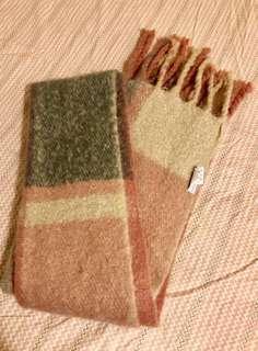 Colourblock scarf