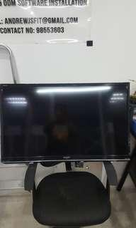"""Clearing Working Sharp Lc39le 39"""" led tv"""