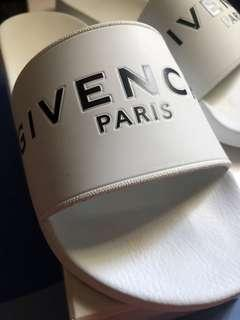 Givenchy White Slide