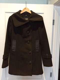 "Mackage ""Effie"" coat size Small in Brown."