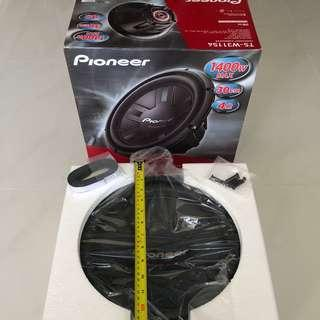 🚚 Pioneer Subwoofer 1400W 30cm -  Brand New, Ready Stock