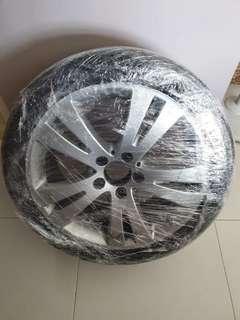 Mercedes C180 Original Spare Rim With Tyre & Kit