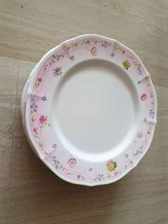 🚚 27 cm Melamine Dinner Plates (Set of 6)