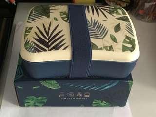Brand New Bamboo Fibre lunch box