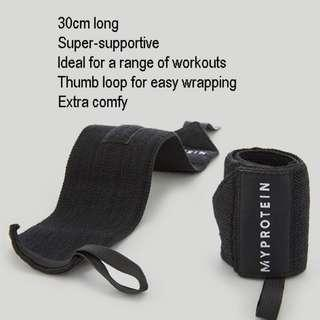 Wrist Wraps 30cm stretchable Protein Whey Myprotein