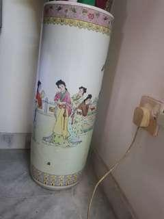 umbrella antique vase