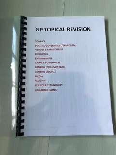 🚚 General Paper Topical Guides
