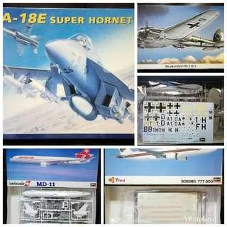 清位放戰鬥機模型 1 (多谷)