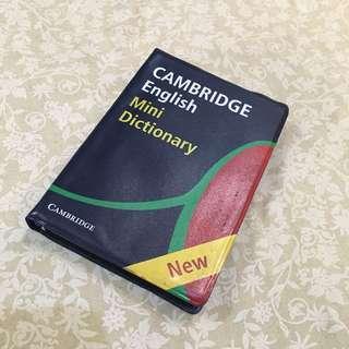 Kamus Inggris-Inggris Cambridge Mini Dictionary