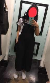 Black Over size jumpsuit\ overall