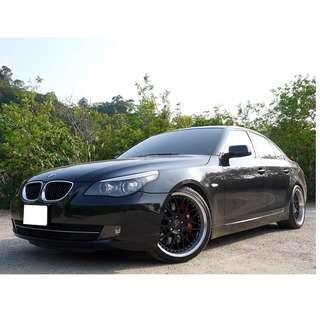 2009年 BMW 520D 總代理  六速手自排 渦輪增壓 177hp